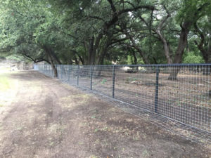 Aim High Fence Builders - Texas High Game Fence Construction