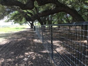 Texas Farm & Ranch Metal Fence Builders