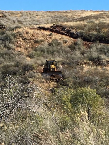 Aim High Fence Builders - Texas Ranch Dozer Work