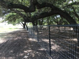 Aim High Fence Builders - Texas Ranch Metal Pipe Rail Fence Construction