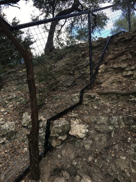 Aim High Fence Builders - Texas Ranch Metal Pipe Water Gap Construction