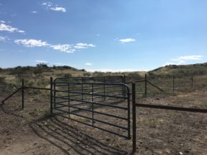 Aim High Fence Builders - Texas Ranch Gate Opening Construction