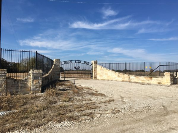 Aim High Fence Builders - Texas Rock Entrance & Custom Gate Artwork
