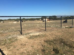 Aim High Fence Builders - Texas Farm & Ranch Metal Pipe Rail Fence Construction