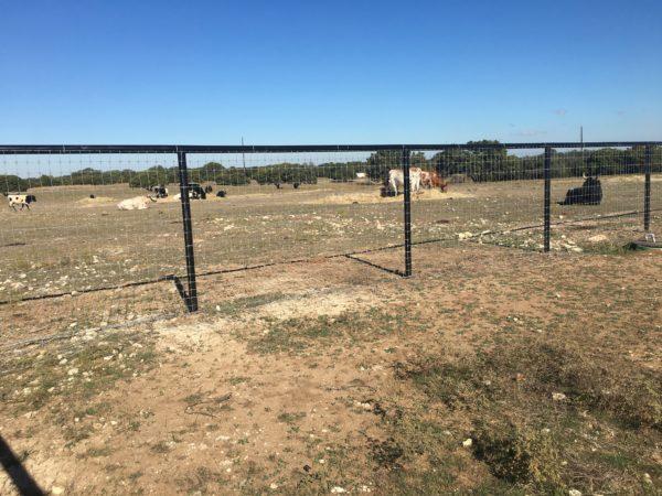 Aim High Fence Builders - Texas Farm & Ranch Metal Pipe Rail Fence Construction