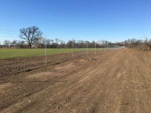 Aim High Fence Builders - Texas Exotic Deer Ranch High Game Fence Construction